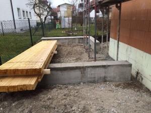 Fundamente für FT-Garage