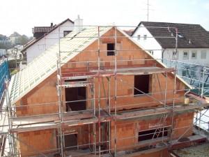 Nordostansicht mit Dach