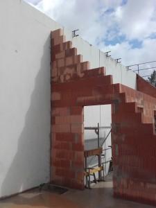 Innenmauerwerk DG
