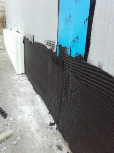 Abdichtung der Gebäudefuge