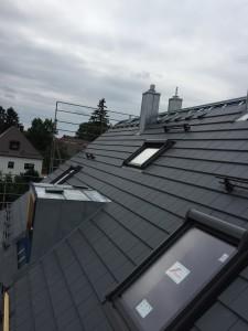 Dachfläche Haus B